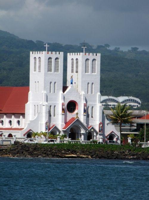 Mulivai Catholic Cathedral, Apia, Samoa.   (by mindymiss)