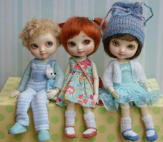 Wilde Imagination Amelia Thimble dolls