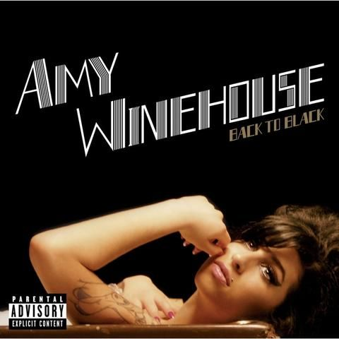 Amy Winehouse Back To Black on LP Controversial Soulstress Totally Delivers on 2007 Smash Winner of Five 2008 Grammy Awards including Best New Artist, Record of the Year, Song of the Year, Best Female