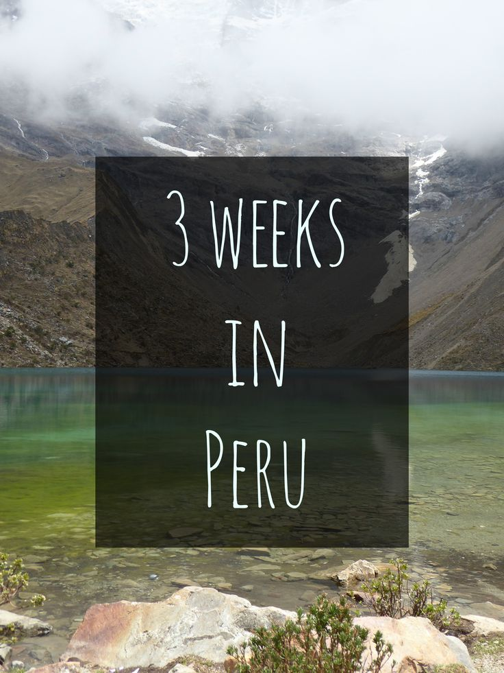 Here's a suggested itinerary on how to spend 3 weeks in Peru, covering the Amazon Rainforest, Arequipa, Colca Canyon, Lake Titicaca, Cuzco, Machu Picchu and Lima.