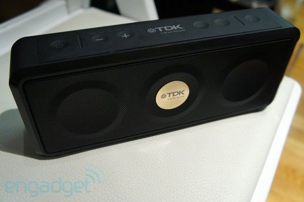 TDK preps its first weatherproof speaker: Weatherproof Speakers, Gadgets Technology, Hands On, Handson, Airplay Speakers, Speakers Insp, Spent, Devices, Ifa