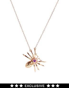 Bill Skinner Exclusive For ASOS Spider Pendant