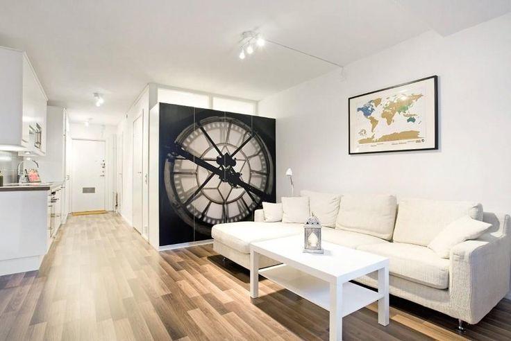 Модные идеи дизайна квартиры студии