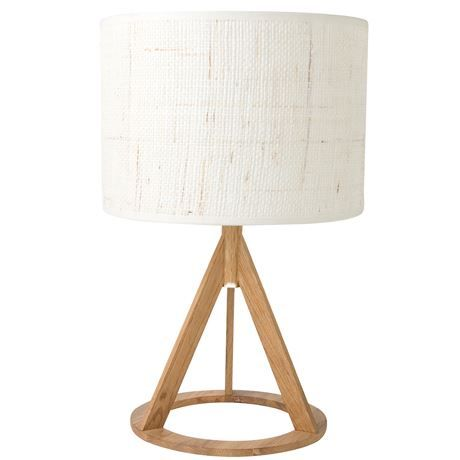 Give your bedside table a punchy addition with the Mason Table Lamp Oak Colour Base & Woven Shade. The stark angles of this handsome lamp give it an impactful look that will bring sophistication to your home. It's also available in Espresso Base & Linen Colour Shade.