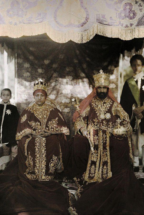 ":Ethiopian ""King of Kings"" Emperor Haile Selassie I ..."