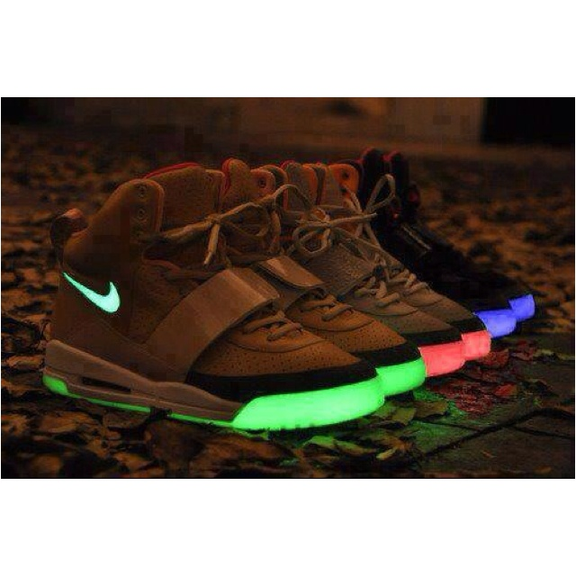 2b694591bdb Nike Glow in the Dark Air Yeezy s I want one in every color possible    Why  can t they just all fall into my lap   (