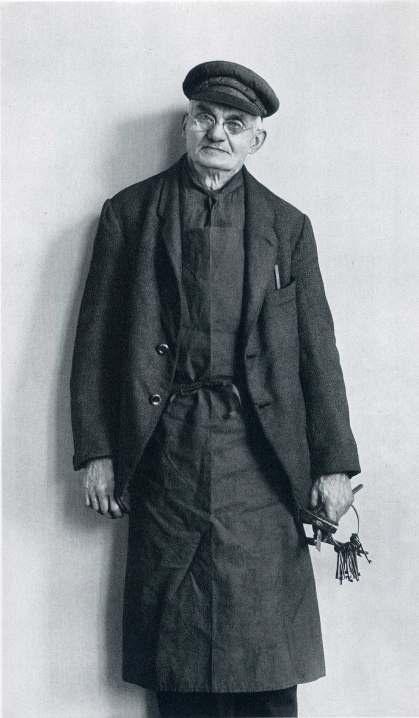 August Sander | Apron and jacket