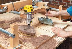 Carving Duplicator | Kopiermaschine Woodsmith Plans