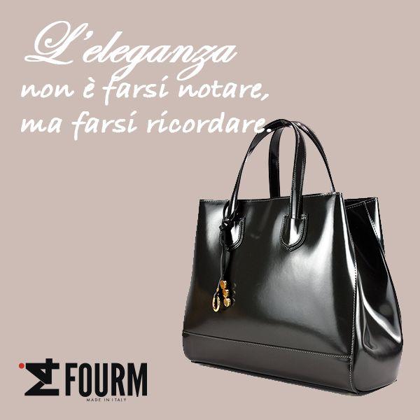 Fatevi ricordare... indossate una borsa iFourM!!!