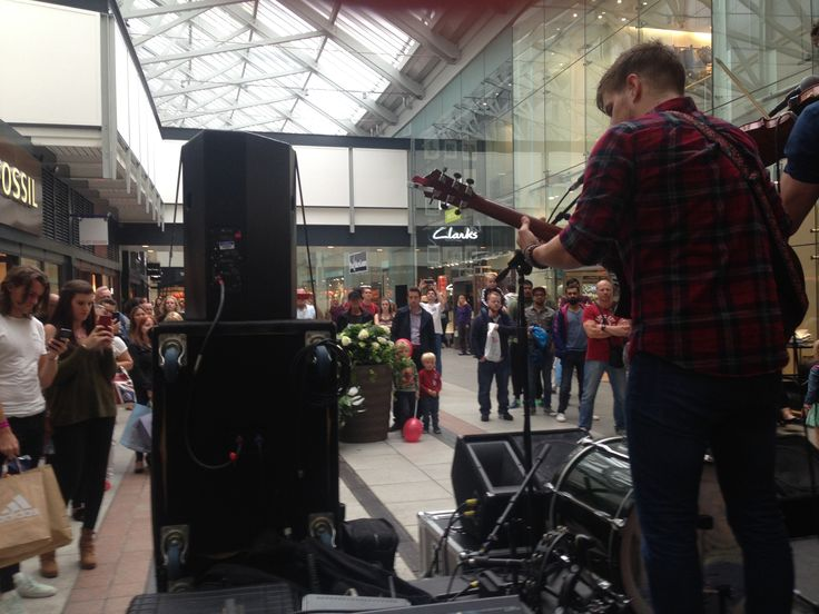 Electric Eden performed in Gunwharf Quays