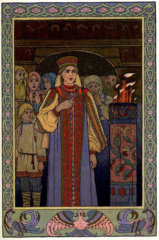 Русский художник Иван Билибин--Russian artist Ivan Bilibin