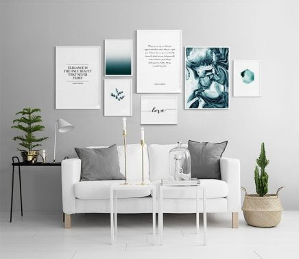 fotowand posters inspiratie a collection of home decor