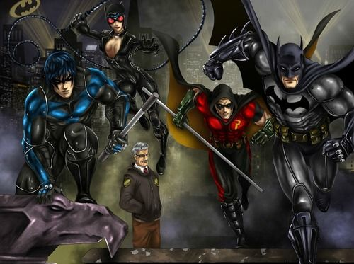 Arkham City: Gotham Crusaders, Arkham City, Dc Comic, Bats Boards, Batman Dc, Red Robins, Batman Fans Art, Batman Arkham Cities, Superhero