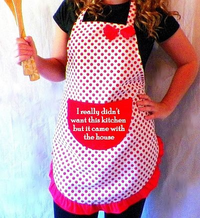 cute apron quotes