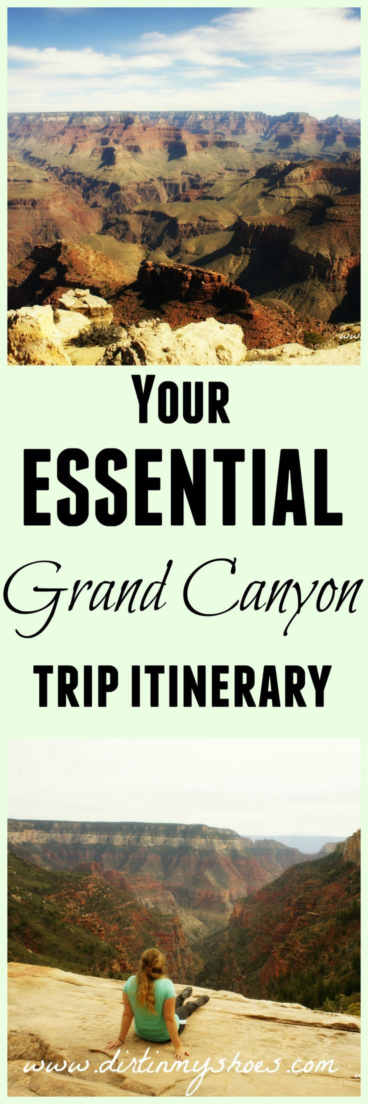 This itinerary made our trip sooo much better.  If you're going to the Grand Canyon, take this with you!