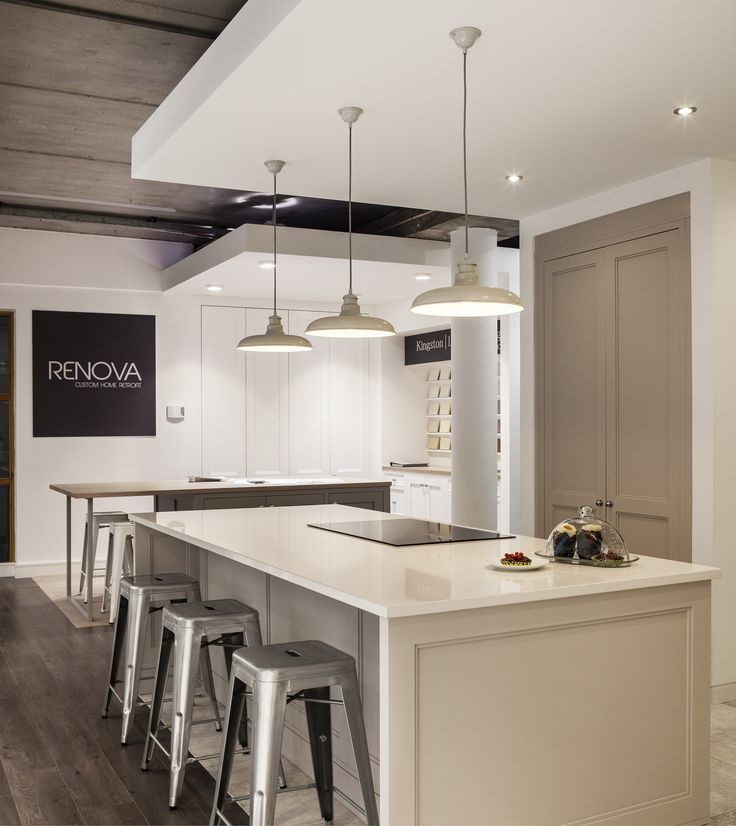 Award Winning Commercial Flagship Showroom And Retail Space For Renova With  Bespoke Kitchen Design. Commercial