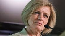 Alberta Premier Rachel Notley gives an update on the wildfire situation currently underway in and around Fort McMurray on Wednesday, May 4, 2016. THE CANADIAN PRESS/Codie McLachlan (CODIE MCLACHLAN/THE CANADIAN PRESS)