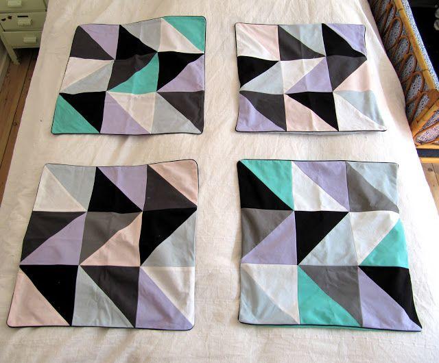 MARIES FABRIK: patchwork pudebetræk