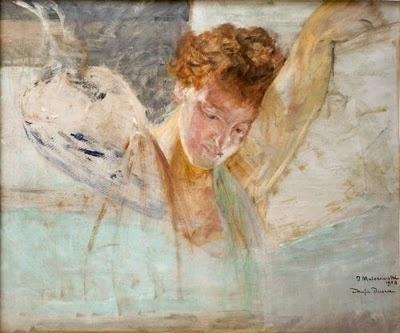 Jacek Malczewski - My Soul, 1908