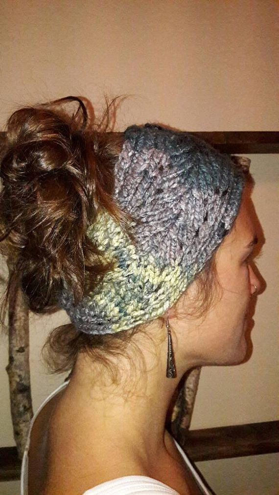 Hand Knit Stylish Winter Headband - Wild Wrap by Nat in the Hat Knits on Etsy https://www.etsy.com/ca/shop/NatInTheHatKnits?ref=ss_profile Follow @iamnatinthehat on Instagram