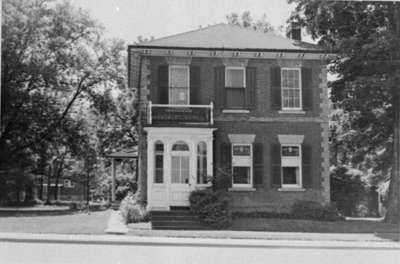 William Burns' House, July 1975