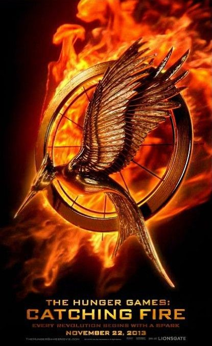 """Cineast: Анимированный постер фильма """"Голодные игры: И вспыхнет пламя"""""""
