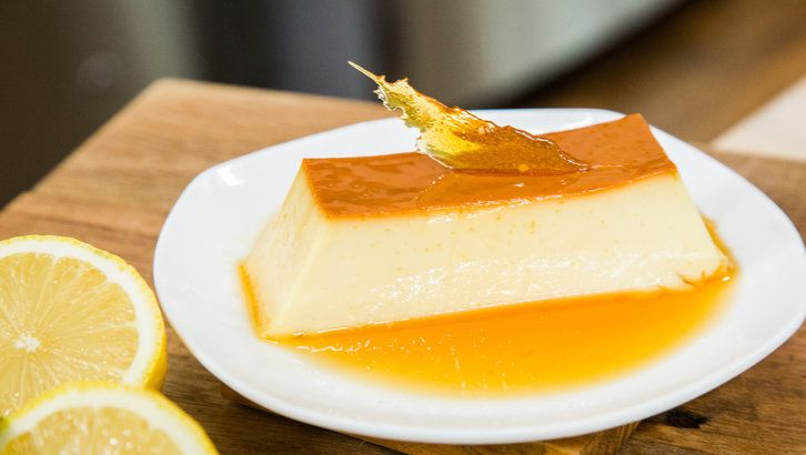 Slow Cooker Flan  Don't know if I'd add the lemon zest, but I will definitely try the recipe!