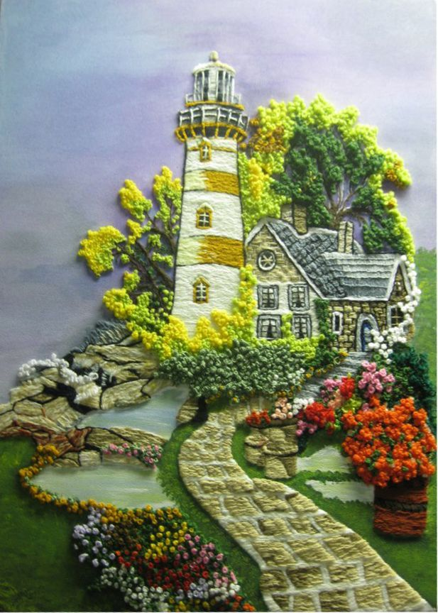 Cuadros GUATEMALTECOS on Pinterest | Lighthouses, Embroidery and ...