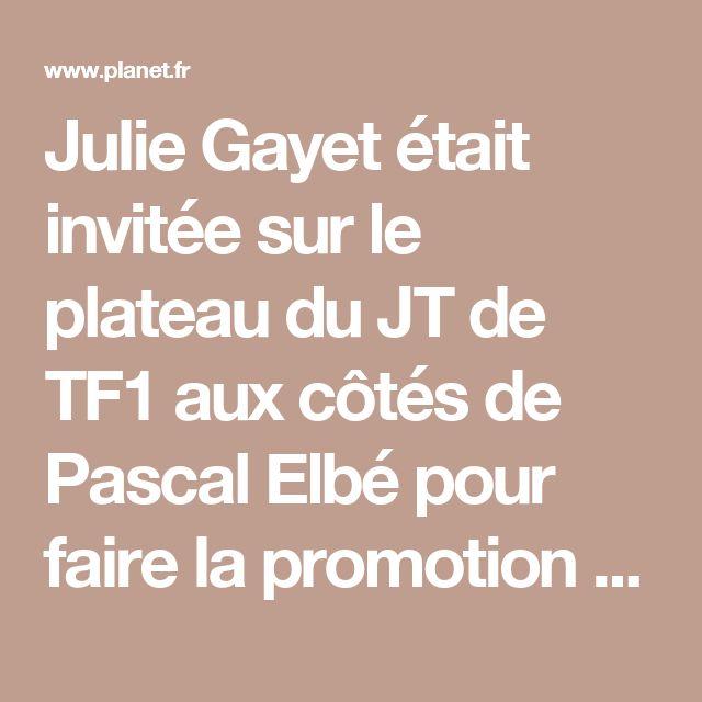 Julie Gayet était invitée sur le plateau du JT de TF1 aux côtés de Pascal Elbé pour faire la promotion du film Je compte sur vous dont elle est à laffiche. Lactrice a malencontreusement dévoilé toute lintrigue du film pendant linterview !