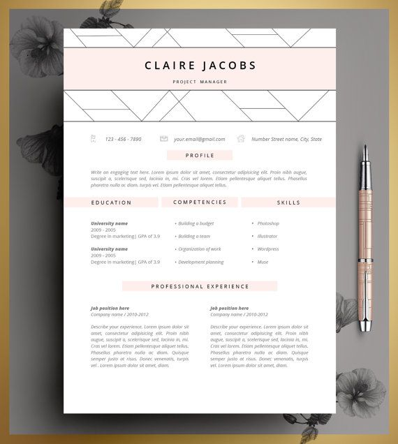 Best 25+ Cv template ideas on Pinterest Layout cv, Creative cv - resume design templates