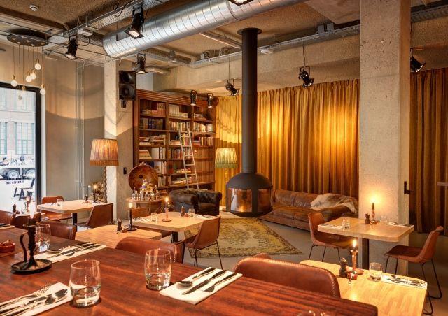 Restaurant The Lobby Nesplein Restaurant & Bar (Hotel V) in Amsterdam - Recensies   iens.nl - Waar gaan we eten?