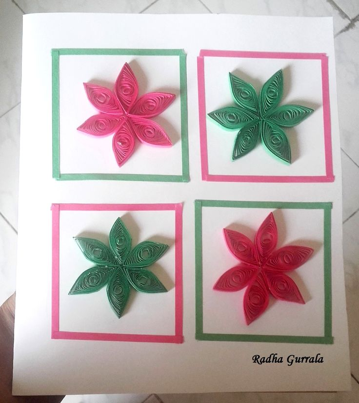 Paper quilled card by Radha Gurrala (G G B)
