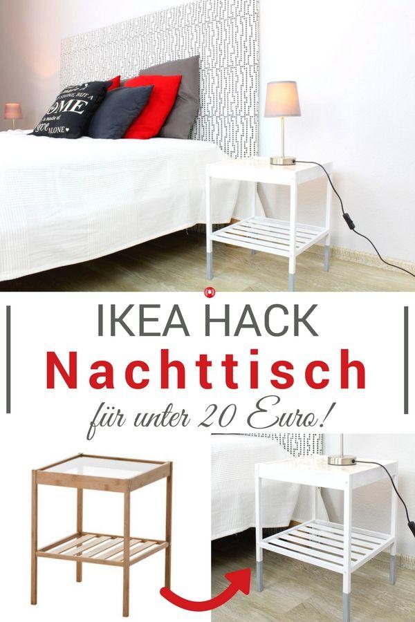 IKEA-Hack – Nachttisch für unter 20,- Euro selber machen