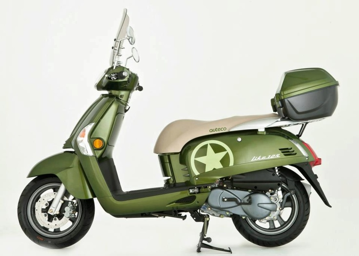 Like 125 Army scooter