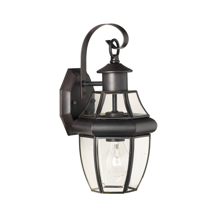 Thomas Lighting SL941363 Heritage Collection Painted Bronze Finish Traditional Wall Sconce
