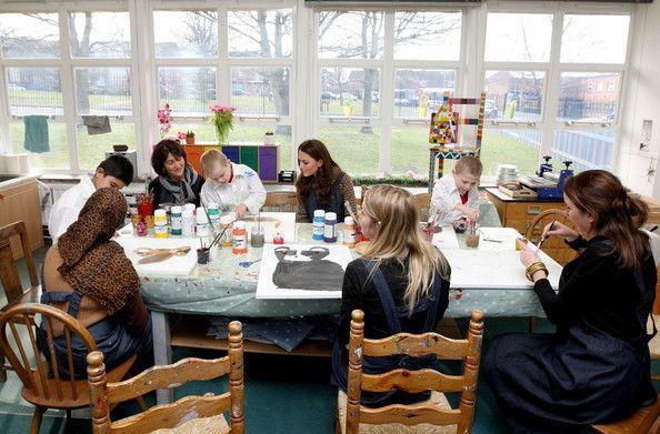 Kate Middleton - Kate Middleton Visits Rose Hill School 7