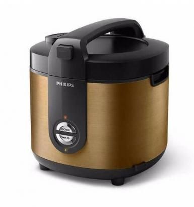 Rice Cooker 3D Philips 2 Liter HD 3128 (Stainless) / Magic Com HD-3128