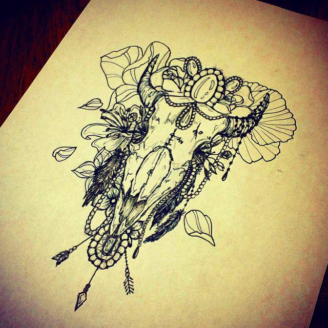 26 Deer Tattoos: Best 25+ Deer Skull Tattoos Ideas On Pinterest