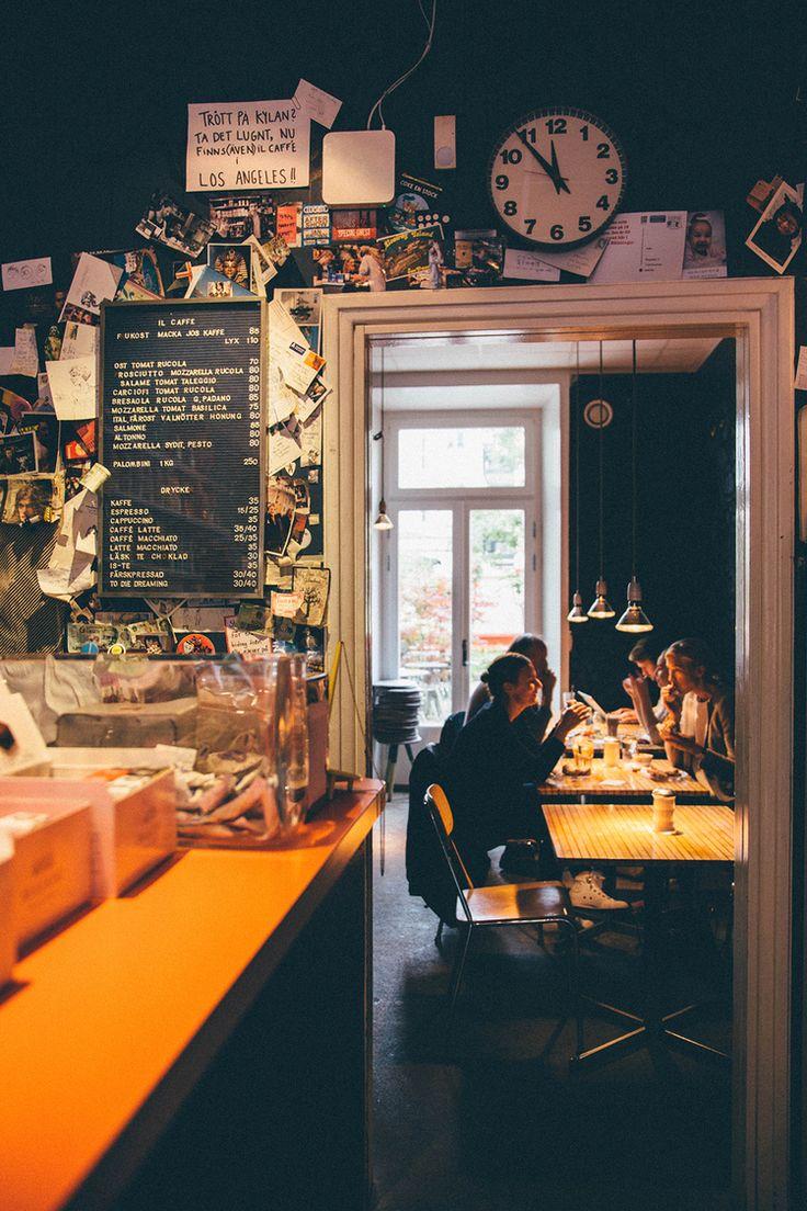 Il caffe on Kungsholmen.