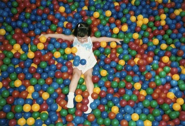 Ballpit @Burger King circa '91    #90skid #90s #balls #play #playground #childhood