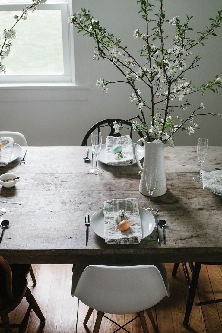 A Daily Something | Gatherings | A Simple Easter Table and Brunch Menu