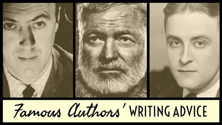 Writing Advice From The World's Most Famous Authors - Writers Write