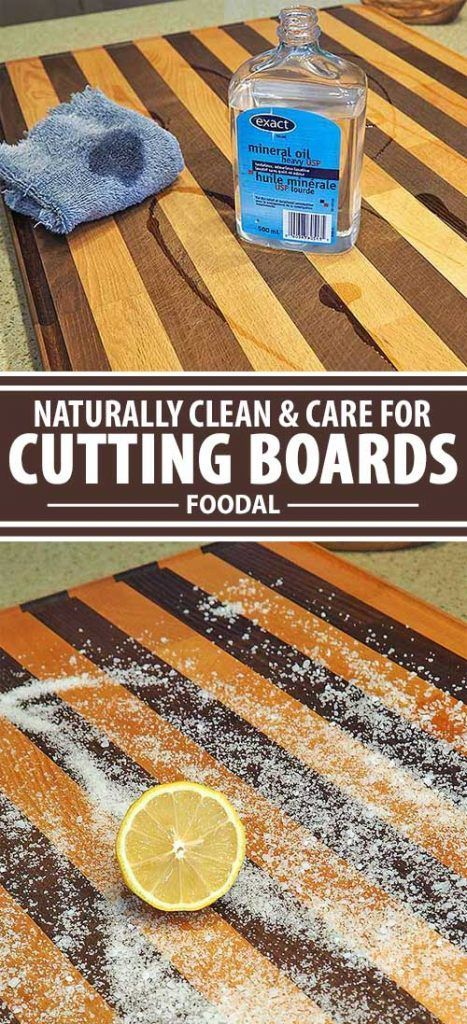 Butcher Blocks and Wood Cutting Boards: The Best Natural Methods for Care and Cleaning
