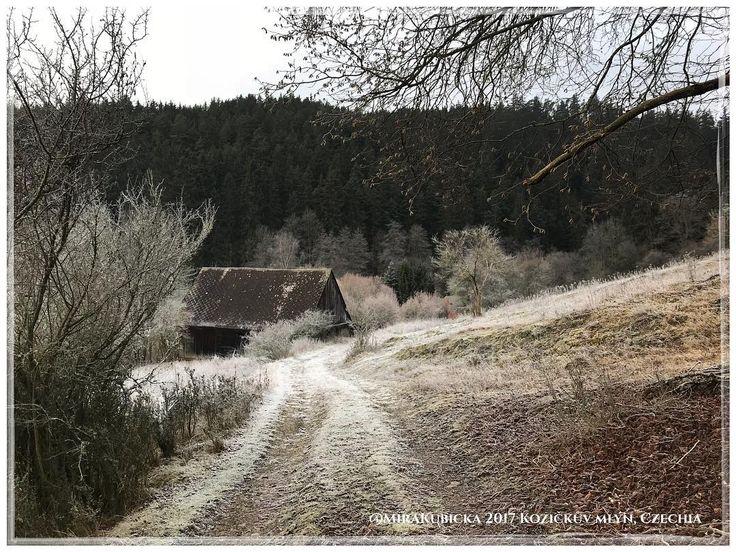 #kozickuvmlyn #strela #rabstejnnadstrelou #cesko #czechia #vylet #cestovani #turistika #retroturistika #travel #trip #hiking #explore #landscape #nature #krajina #manetin #zima #winter #2017
