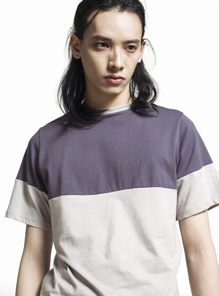 LUSIF 2 Tone Monochrome Tshirt