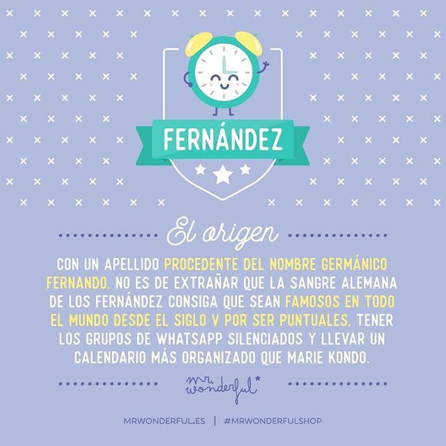 Fernández Puede Haber Muchos 917 924 En Concreto Pero Como El Tuyo Ninguno Mrwonderfulshop Significados De Los Nombres Nombre Fernanda Frases Ingeniosas