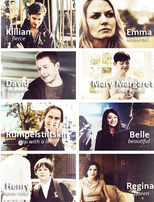 It goes to show how important names are to a character's personality and to understanding who they are.