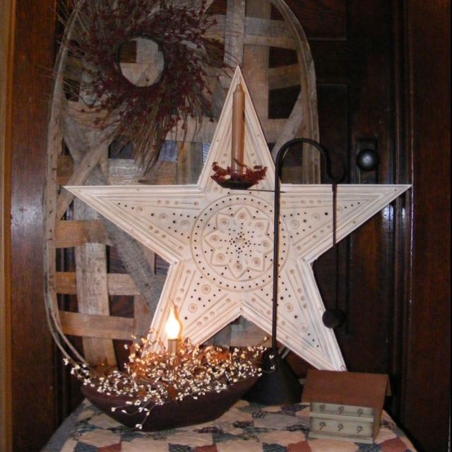 264 best images about starlight star bright on pinterest for Country star decorations home