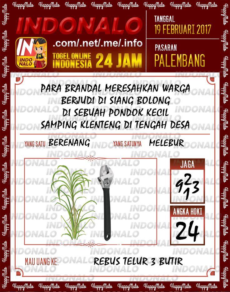 Taysen Hoki 3D Togel Wap Online Live Draw 4D Indonalo Palembang 19 Februari 2017