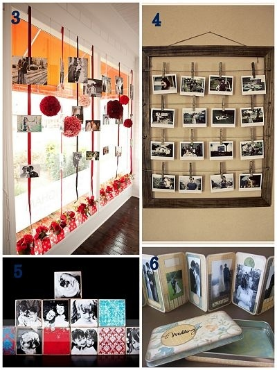 Photos are an important part of documentation and can be displayed in many creative ways.